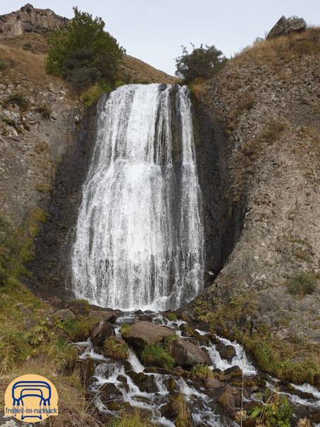 """der """"Arsha"""" Wasserfall"""