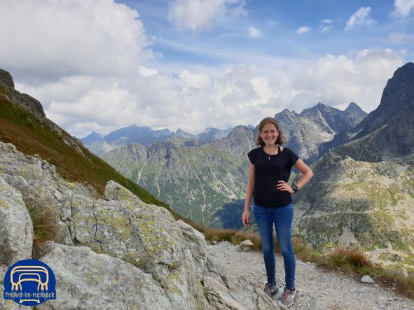 Ich im Nationalpark Hohe Tatra (Polen) auf 2.110m