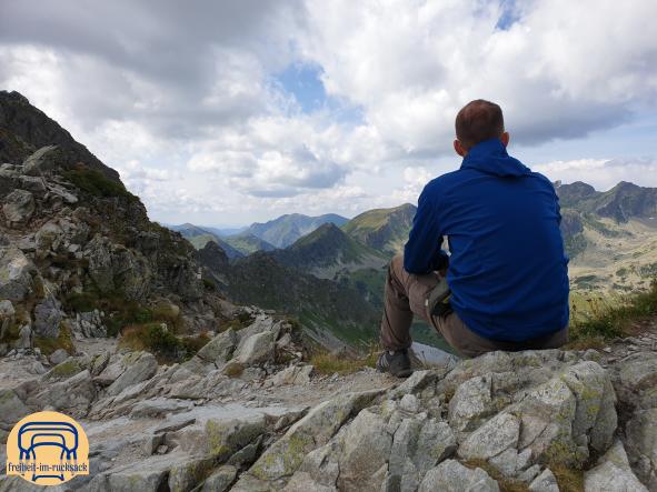Frank im Nationalpark Hohe Tatra (Polen) auf 2.110m