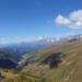 die Aussicht von 2.839m in Georgien
