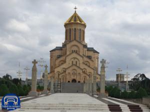 die Holy Trinity Cathedral in Tiflis