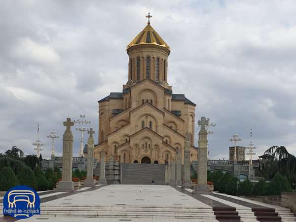 die Holy Trinity Cathedral in Tiflis