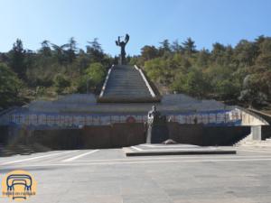 Kriegsdenkmal im Vakis Park in Tiflis