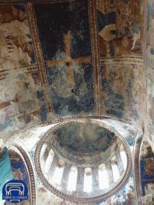 in der Gelati Kathedrale befinden sich sogar noch Wandmalereien