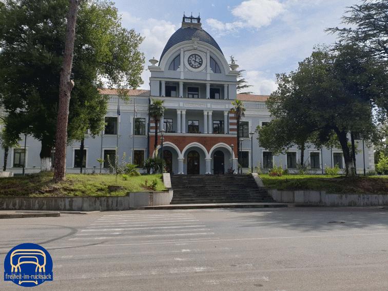 das Rathaus in Skaltubo