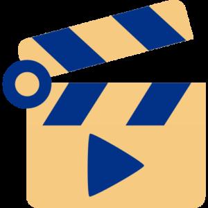 Regisseur-Klappe